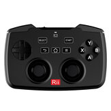 Rii RK707 2.4GHz Wireless Keyboard Game Controller with 62-keys Mouse with Touchpad for PS3 TV Box Smart TV