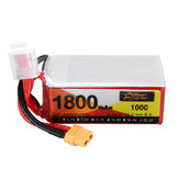 ZOP Power 22.2V 1800mAh 100C 6S Bateria Lipo XT60 Wtyczka do drona RC
