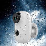Wi-Fi 1080P IP камера Домашняя безопасность P2P PIR камера Водонепроницаемы 6000 мАч Батарея Ночное видение