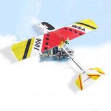 WSA 1000EPP 1000mm Wingspan EPP Trainer Beginner FPV RC Airplane KIT