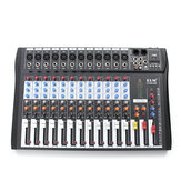 EL M CT-120S 12 canais Professional Live Studio Mixer de áudio Power USB Mixing Console