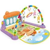 Fitness Frame Foot Harp Baby Newborn Game Pad Bambini Shake Sound Giocattoli educativi per interni