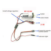 Water-cooled Two-way ESC With UBEC Output For RC Boat Vehicles Underwater Propellers Wind-driven Products