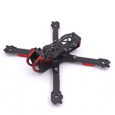 Dragon HX5 X5 220mm 5 inch FPV Racing Frame Kit RC Drone 4mm Arm Carbon Fiber