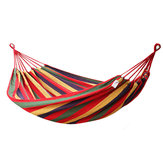 280×100cm Outdoor 2 People Double Hammock Portable Camping Parachute Hanging Swing Bed Max Load 350kg