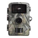 DL001 16MP 1080P HD Câmera de caça de tela de 2 polegadas IR Visão noturna Monitoramento de câmera de escotismo à prova d'água Protegendo fazendas de segurança