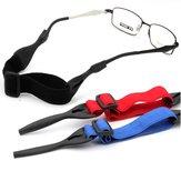 Antislip zonnebril Brillenglazen verstelbare snoeren