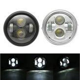 Fanale Anteriore LED Hi/Lo Universale da 6.5Pollici 12V per Motociclo