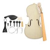 Fai da te Legno Solido Legno Solido Violetto 4/4 Kit Kit Spruce Top Acero Indietro Fiddle