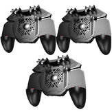 3Pcs MEMO AK88 Gamepad Six Fingers Joysticks Game Controller for PUBG for iOS Android Mobile Games
