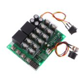 DC 10-55V 12V 24V 36V 48V 55V 100A Motor Speed Controller PWM HHO RC Reverse Control Switch with LED Display