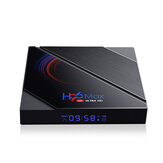 H96 Max H616 4GB RAM 32GB ROM 5G Wifi bluetooth 4.0 Android 10.0 4K 6k UHD 3D Stereoscopic VP9 H.265 TV Box Support Google Assistant 4K Youtube HD Netflix