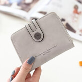 Women Elegant Slim Wallet Cute Card Holder Small Minimalist Coin Bag Purse with 12 Card Slots