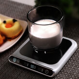55℃ Constant Temperature Cup Heating Mat Electric Tea Warmer 3 Gear USB Charging Smart Touch PTC Heating