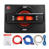 10 '' 1200W Pro Car Active Boxed Subwoofer BASS Hiifi Powered Amp Sub