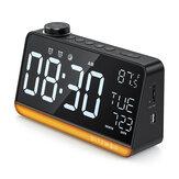 BlitzWolf BW-LAC1 Радио Цифровой будильник Часы Ночник Большой Дисплей FM Радио Функция Двойной будильник Часы Температура Дисплей для украшения с