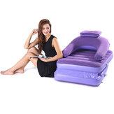 2 en 1 colchones plegables portátiles de la cama plegable portátil del sofá perezoso con la bomba de aire al aire libre cámping