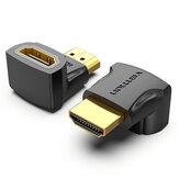 Vention HDMI-Stecker auf HDMI-Buchse Adapterkonverter 270 ° rechtwinklig HDMI 2.0 4K 1080P HDMI Extender-Anschluss