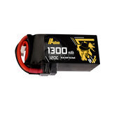 Auline 14.8V 1300mAh 120C 4S Lipo Батарея XT60 Разъем для iFlight Green Hornet V2 FPV Racing Дрон