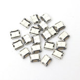 20Pcs Micro USB Type B Female Socket 5 Pin SMT SMD DIP Jack Connector Port