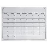 السبورة المغناطيسية الشهرية الجدول الزمني الأسبوعي التقويم جدول للثلاجة