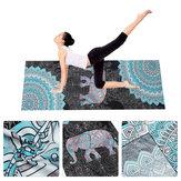 183 * 63cm Yoga tapis d'impression de tapis de gymnastique Yoga de sports d'intérieur en plein air