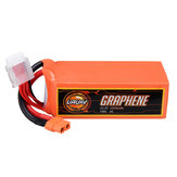 URUAV GRAPHENE 6S 22.2V 2200mAh 100C Lipo Batería Enchufe XT60 para FPV RC Racing Drone