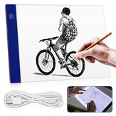 Ultra Thin A4 LED Light Pad Artist USB LED Drawing Board Pad Copy Table Painting Drawing Board