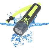 110LM 3 W LED Dalış El Feneri Su Geçirmez Sualtı Torch Işık Bisiklet Balıkçılık