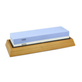 2 In 1 1000/6000 Grit Knife Sharpener Whetstone Sharpening Stones Grinding Stone System Water Stone Honing Kitchen Tool