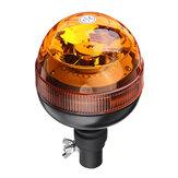 DC 12-24V Luz de aviso E9 + Intermitente LED Beacon Flexble Din Pólo Trator Luz de aviso
