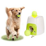 Creative Pet Ball Launcher Toy Dog Tennis Food Reward Machine Interactive Toys Suitable For Cats & Dogs