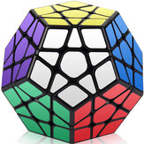 Qiyi Five Magic Cube Professionelt niveau 3 Five Magic Cube 12 Face Slow Down Decompression Magic Cube Puzzle Education