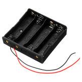 10 adet Plastik Batarya Depolama Kılıf Kutu Batarya Tutucu Için 4 x 18650 Batarya