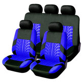 Universal Car 5 Heads Front Rear Seat Covers Protector Cushions 9Pcs Full Set