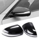 Bil Rearview Mirror Cover Caps Carbon Fiber til Mercedes-Benz W205 GLC 2015-18 Venstre Kørsel