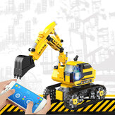 Children's Assembled Toys Science Education Intelligent Programming Building Block Excavator Puzzle Creative Gifts for Kids