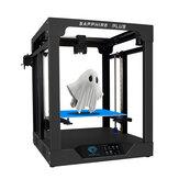 TWO TREES® Sapphire Plus Core XY 300 * 300 * 350mm Imprimante 3D de taille d'impression avec corps entièrement métallique / Double guide linéaire / Extrudeuse BMG / Reprise de l'alimentation / Détection de filament / Kit d'imprimante 3D D