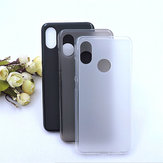 Bakeey™ Pudding Matte Shockproof Soft TPU Back Cover Protective Case for Xiaomi Mi8 Mi 8