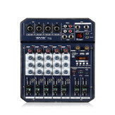 WENYANWEN Mini 4 Channel Mono + 1 Stereo Output USB 16 DSP Effects صوت Mixer With بلوتوث