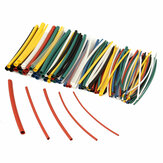 140Pcs Halogen Bebas 2: 1 Heat Shrink Tubing Wire Cable Sleeving Wrap Wire Kit