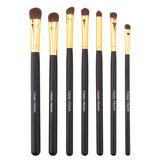 7pcs Soft Horsehair Makeup Brushes Set Eyeshadow Eyeliner