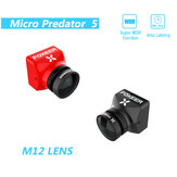 Foxeer Micro Predator 5 Camera 19*19mm Full Cased 1000tvl M12 1.7mm Lens 4ms Latency Super WDR Mini FPV Camera