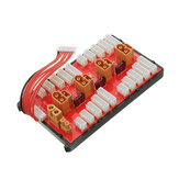 2 IN 1 PG Parallel Charging Board XT30 XT60 Plug Supporta 4 Pack 2-8S Lipo Batteria