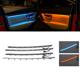 Illuminated LED Interior Car Door Atmosphere Light Decoration Ambient Lamp Set For BMW F30 F31