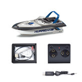 Mini Simulation Remote Control Boat Four Channel High Speed Charge RC Boat