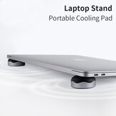 Hagibis 2PCS Magnetic Cooling Pad Desktop Stand Holder for MacBook Laptop Tablet
