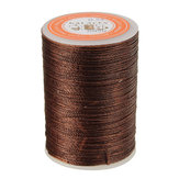 115m Dacron Wax Line Round DIY Leather Craft Tool 0.55mm For Shoe Sewing