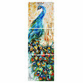 3Pcs/set HD Peacock Wall Decorative Paintings Canvas Print Art Pictures Frameless Wall Hanging Decorations for Home Office