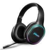 Picun P80S bluetooth 4.1 Gaming Headset LED-belysning Støjdæmpende trådløs hovedtelefon med mikrofon til pc XBOX PS4